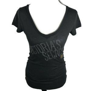 Victoria Secret V Neck T Shirt Size Small